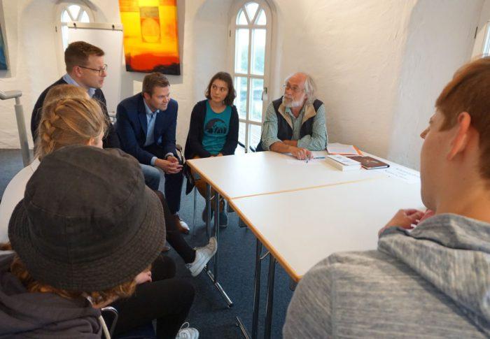Erstes Klima World Café im Wasserturm in Lingen