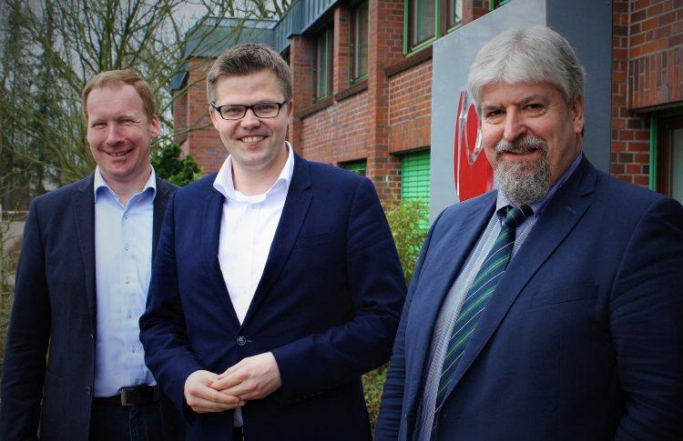 Christian Fühner besucht Christophorus-Werk
