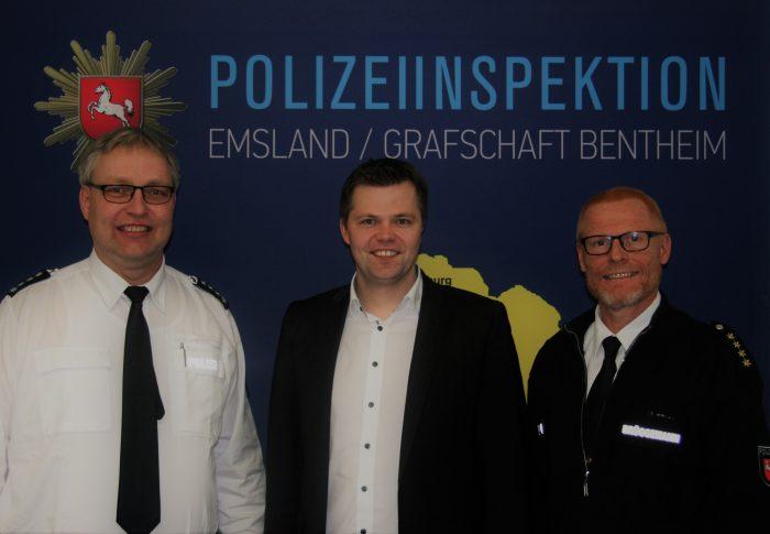 Landtagsabgeordneter Fühner besucht Polizeiinspektion