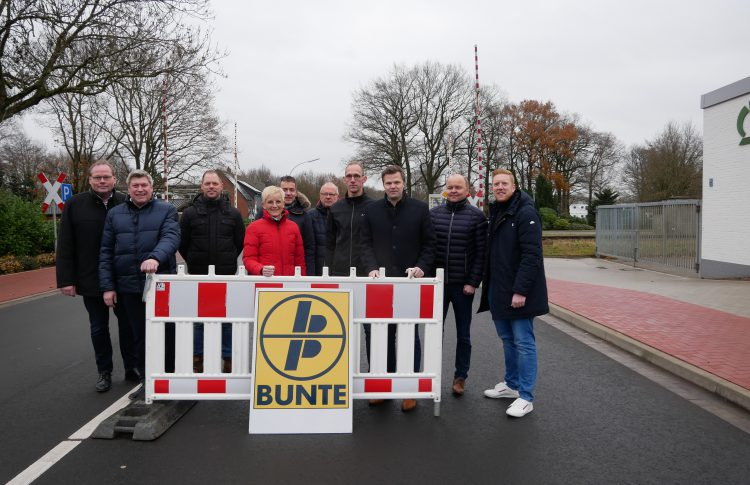 Dreierwalder Straße in vier Monaten vollständig erneuert