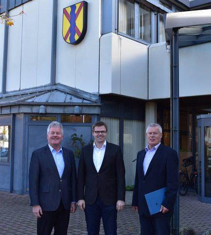 Landtagsabgeordneter Christian Fühner in Emsbüren zu Besuch