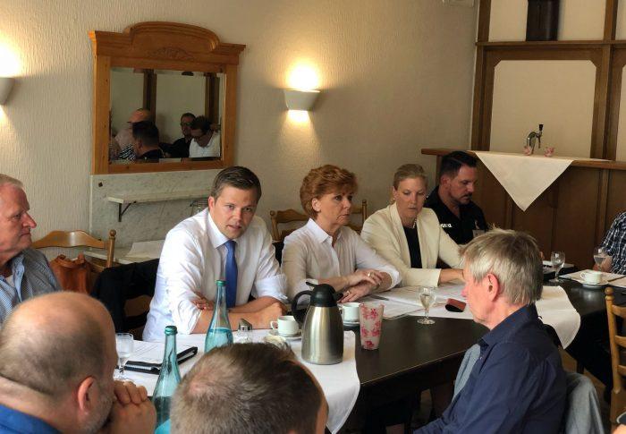 Justiz in Niedersachsen und Lingen: Ein Gespräch auf Augenhöhe