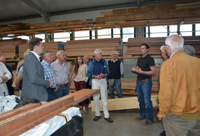 Hochtechnisierte Produktion bei Fenster Bojer am Standort in Clusorth-Bramhar